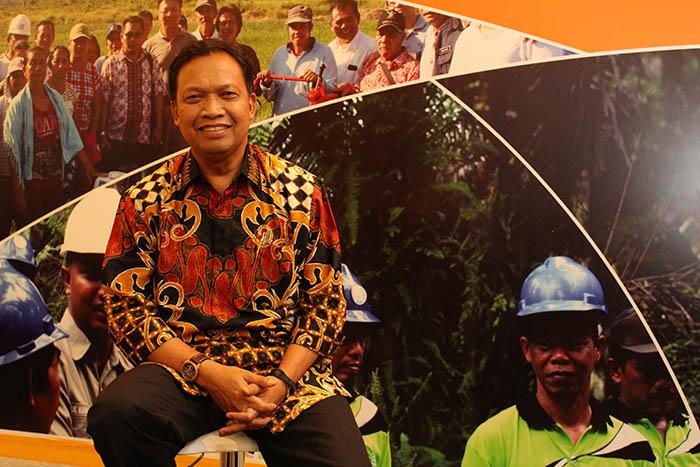 Ketua GAPKI Joko Supriyono fokus bekerjasama dengan Pemerintah dan meningkatkan produktivitas perkebunan rakyat. Foto : WUDHI/TROPIS.CO