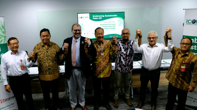 International Conference on Oil Palm and the Environment (ICOPE) 2018, telah berlangsung di Nusa Dua Bali