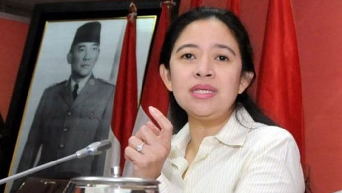 Menteri Koordinator Bidang Pembangunan Manusia Puan Maharani sudah temukan jalan keluar polemik cuti Lebaran. Foto : vertanews.tv