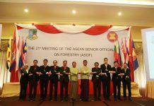 Dalam pertemuan The 21th ASOF Meeting, delegasi Indonesia mengajak negara-negara di ASEAN bekerjasama dalam melestarikan hutan. Foto : Kementerian LHK