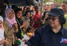 Menteri LHK Siti Nurbaya meresmikan Hutan Adat Tigo Luhah Kemantan yang merupakan hutan adat pertama yang diresmikan di Indonesia. Foto : Kongkrit.com