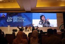 Menteri Lingkungan Hidup dan Kehutanan Siti Nurbaya ungkapkan, perubahan manajemen pada era pemerintahan saat ini adalah bagaimana prosedur perizinan yang dahulu sulit dan lama, dapat dipangkas dan dipermudah. Foto : Kementerian LHK
