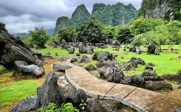 Geopark Maros gencar dipromosikan sebagai tujuan wisaata di wilayah Sulawesi Selatan. Foto : Travel Kompas