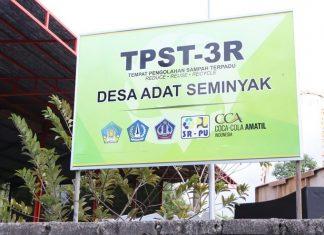 TPST 3R ini sekaligus berfungsi sebagai pusat pendidikan (learning center) pengolahan sampah dengan sistem 3R. Foto : Kementerian PUPR