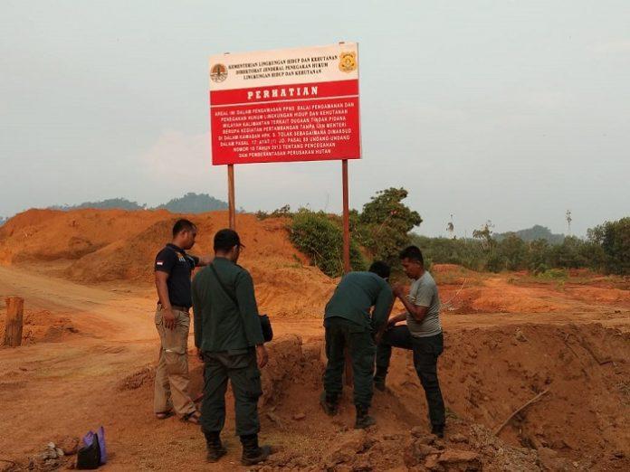 Kementerian Lingkungan Hidup dan Kehutanan menindak tegas korporasi tambang yang merusak ekosistem dan habitat satwa. Foto : Kementerian LHK