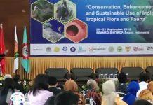 Konferensi Internasional berlangsung di SEAMEO Biotrop Kota Bogor jadi ajang pertukaran informasi dan ilmu pengetahuan antarpeneliti di Asia Tenggara, sehingga pemerintah mengetahui kondisi di lapangan terkait flora dan fauna adat yang di milik Indonesia maupun negara lainnya. Foto : Inilah Online