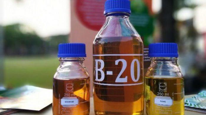 Program B20 yang diperluas ke segmen non PSO selama dapat menyerap 1 juta ton biodiesel sepanjang September-Desember 2018. Foto : Tribunnews.com