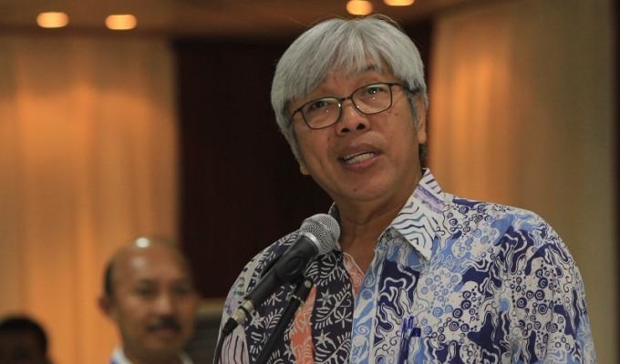 Direktur Jenderal Minerba Kementerian ESDM Bambang Gatot Ariyono menjelaskan bahwa penerimaan negara dari minerba ini tergantung fungsi pada harga dan produksi. Foto : Majalah Tambang