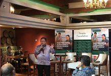 Menteri Perencanaan Pembangunan Nasional dan Kepala Bappenas Bambang Brodjonegoro menilai pertumbuhan ekonomi tidak harus menjadi 'trade off' dengan lingkungan. Foto : LINE Today
