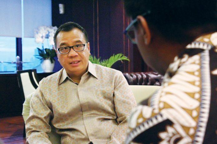 Direktur Utama PT Angkasa Pura I (Persero) Faik Fahmi memiliki rencana strategis yakni mengembangkan kapasitas 13 bandar udara yang mereka kelola saat ini untuk lima tahun ke depan. Foto : Dodi/KAGAMA