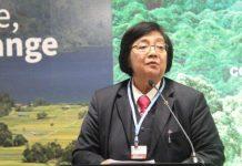 Menteri Lingkungan Hidup dan Kehutanan Siti Nurbaya menyatakan, Pemerintah Indonesia konsisten melaksanakan komitmen penurunan target emisi gas rumah kaca (GRK) dan program adaptasi perubahan iklim. Foto : Tribunnews.com