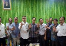 Sekditjen PSKL Apik Karyana saat menerima anggota DPRD Beltim di Kementerian LHK jakarta, Kamis (3/1/2019). Foto : Istimewa