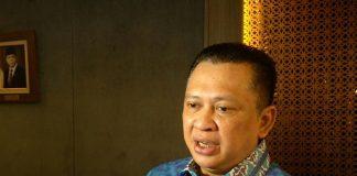 Ketua DPR RI Bambang Soesatyo mengimbau kepada seluruh masyarakat, baik pemegang kepentingan maupun masyarakat pada umumnya, agar turut berkomitmen dan berpartisipasi dalam menjaga dan melestarikan hutan-hutan di Indonesia. Foto : Asatunews