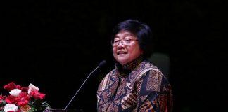 Menteri Lingkungan Hidup dan Kehutanan Siti Nurbaya yakin penerapan Silvikultur Intensif (SILIN), untuk meningkatkan produktivitas hutan alam dan pengelolaan sumber daya alam hutan yang berkelanjutan. Foto : KLHK