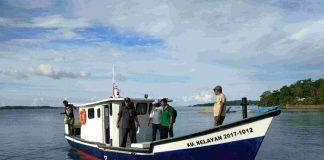Global Fishing Watch membantu pemerintah untuk menganalisis data kegiatan kapal penangkap ikan untuk memantau kegiatan perikanan dan memerangi kegiatan IUU fishing. Foto : Pusat Informasi Pelabuhan Perikanan