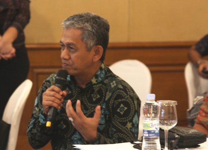 Direktur Eksekutif Gapki Mukti Sardjono dukung agenda Foksbi dalam penerapan ISPO di Tanah Air. Foto : Wisesa/tropis.co