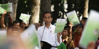 Program Perhutanan Sosial di era Preisden Joko Widodo dilaksanakan untuk mengurangi konflik permasalahan lahan di masyarakat dan bisa membantu mengentaskan kemiskinan masyarakat. Foto : KLHK