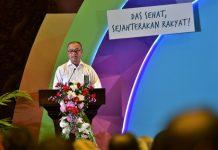 Direktur Jenderal Pengelolaan DAS IB. Putera Parthama menegaskan perlu kerja sama lintas sektoral untuk memulihkan DAS di Indonesia. Foto : KLHK