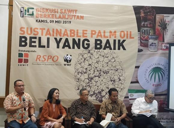 Diskusi Sawit Berkelanjutan mengungkap upaya para pelaku industri kelapa sawit Indonesia terapkan prinsip keberlanjutan. Foto : Wisesa/TROPIS.CO