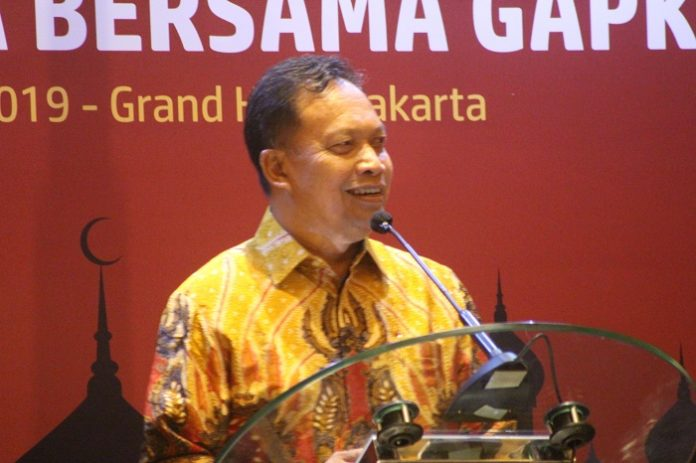 Ketua Umum Gapki Joko Supriyono menilai kinerja ekspor minyak sawit Indonesia tetap optimal. Foto : Wisesa/TROPIS.CO