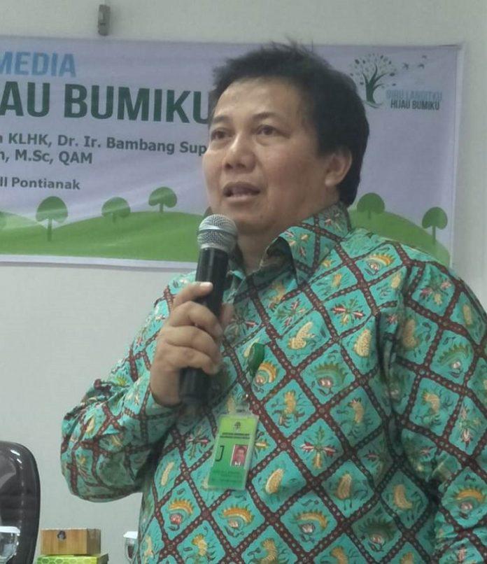 Direktur Jenderal Perhutanan Sosial dan Kemitraan Lingkungan (PSKL) Kementerian Lingkungan Hidup dan Kehutanan (KLHK) Bambang Supriyanto menyatakan, pemberian akses kelola hutan kepada masyarakat melalui Perhutanan Sosial sudah mencapai seluas 3,09 juta hektare. Foto : Istimewa