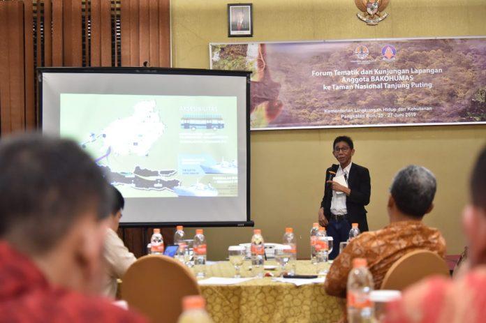 Kepala Taman Nasional Tanjung Putting (TNTP) Helmi mengungkapkan, kunjungan wisatawan mancanegara naik karena daya tarik orangutan dan keanekaragaman hayati TNTP. Foto : Istimewa