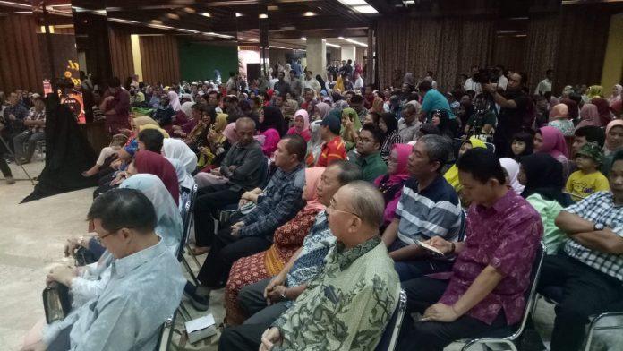 Acara Silaturahmi Masyarakat Bangka Belitung berlangsung semarak. Foto : Istimewa