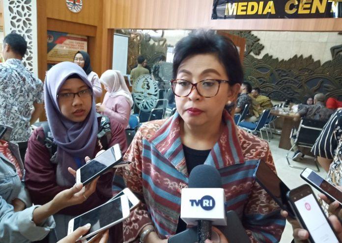 Direktur Jenderal Pengelolaan Limbah Sampah dan Bahan Beracun Berbahaya (PSLB3) Rosa Vivien Ratnawati menilai HPSN merupakan momentum untuk meningkatkan kesadaran masyarakat terhadap pengelolaan sampah berkelanjutan menuju Indonesia Bersih 2025. Foto : Wisesa/TROPIS.CO