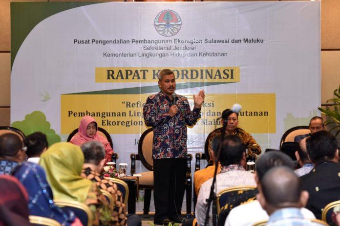 Dalam Refleksi dan Proyek Pembangunan Lingkungan Hidup dan Kehutanan Regional Sulawesi Maluku, kalangan Bupati minta UU 23/2014 direview. Foto : Istimewa