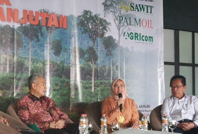 Deputi Menteri Koordinator Bidang Koordinasi Pangan dan Pertanian Musdhalifah Machmud yakin Indonesia menang atas UE di WTO. Foto : Wisesa/TROPIS.CO
