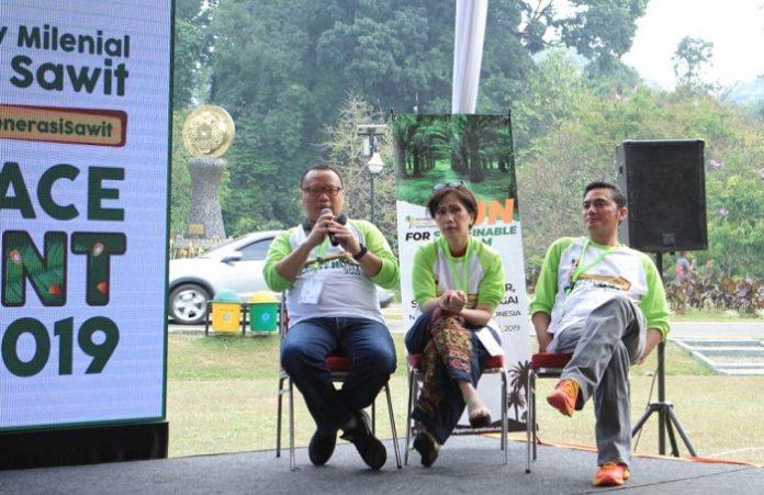 Ketua Bidang Komunikasi Gabungan Pengusaha Kelapa Sawit Indonesia (Gapki) Tofan Mahdi mengatakan, pemberlakuan kebijakan RED II oleh Uni Eropa menjadi perhatian serius pemerintah dan para pelaku industri sawit. Foto : Gapki