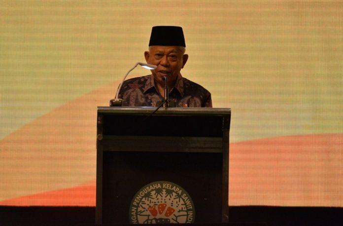 Wakil Presiden RI KH Ma'ruf Amin menilai, peningkatan penggunaan biodiesel akan mengurangi ketergantungan Indonesia pada impor bahan bakar fosil. Foto : Gapki