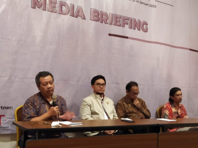 Media briefing terkait penyelenggaraan Simposium Nasional Reforma Agraria Implies Reforma Kehutanan. Foto : Istimewa