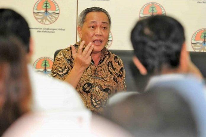 Direktur Jenderal Konservasi dan Sumber Daya Alam dan Ekosistem (KSDAE) Kementerian Lingkungan Hidup dan Kehutanan (KLHK) Wiratno menyatakan kerja sama KLHK dengan WWF tidak sesuai harapan. Foto: kabaralam.com
