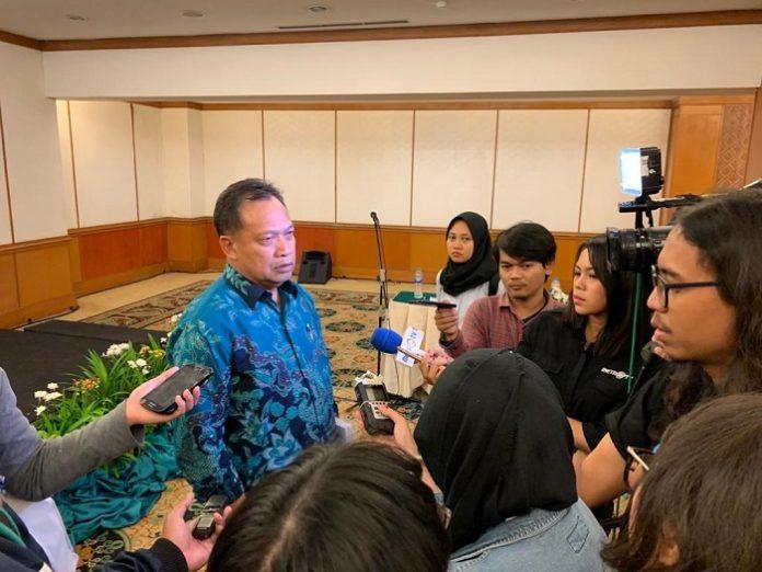 Ketua Umum Gabungan Pengusaha Kelapa Sawit Indonesia (Gapki) Joko Supriyono optimistis prospek industri sawit Indonesia di tahun 2020 bakal cerah. Foto: Gapki