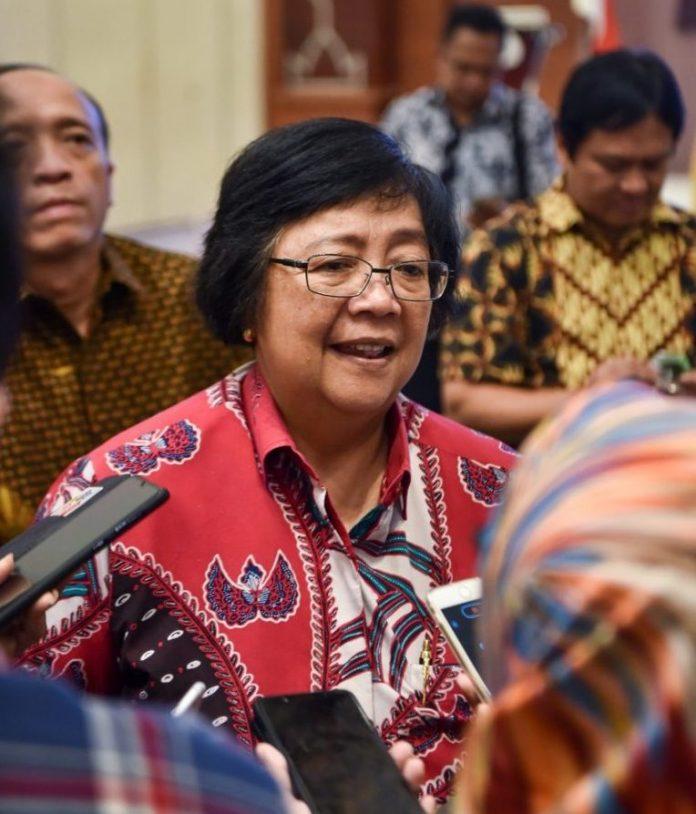 Menteri Lingkungan Hidup dan Kehutanan Siti Nurbaya Bakar ingin media pers menjalin kerja sama erat dengan KLHK. Foto: KLHK