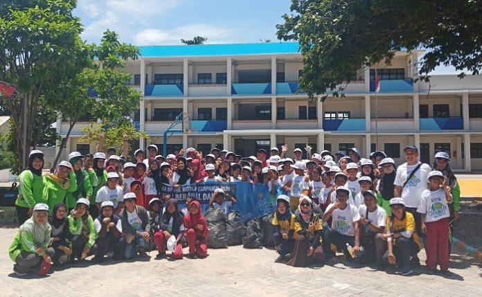 Suzuki Marine Clean Up The World ini merupakan agenda tahunan yang digelar oleh Suzuki Marine sebagai bagian dari Clean Up The World Campaign. Foto: Wisesa/TROPIS.CO