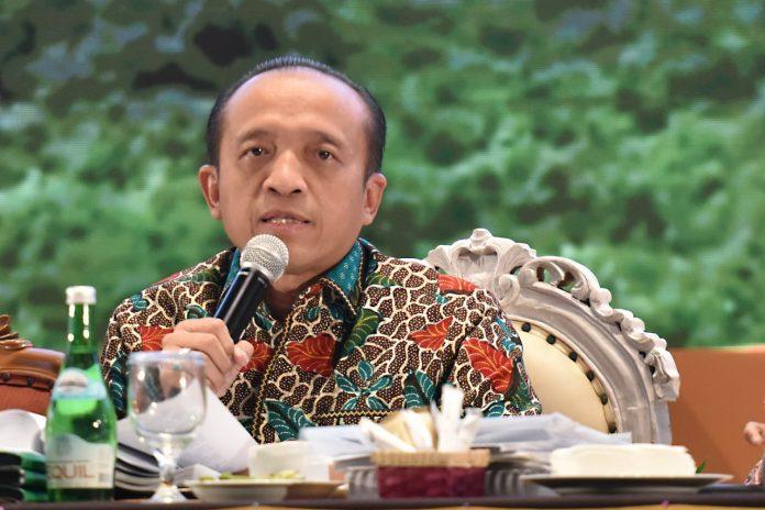 Sekjen KHLK Bambang Hendroyono menilai penguatan posisi resor di tingkat tapak merupakan solusi permanen Karhutla. Foto: KLHK