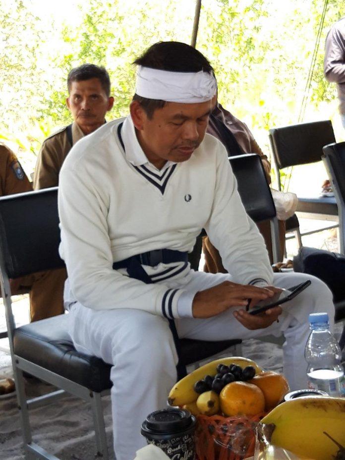 Dedi Mulyadi, politikus yang peduli dengan masalah-masalah lingkungan. Foto: Istimewa