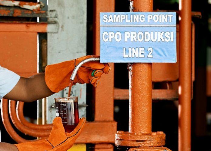 Penggunaan minyak sawit murni atau crude palm oil (CPO) di pembangkit listrik tenaha diesel (PLTD) ini diharapkan dapat mengurangi pemakaian BBM secara signifikan. Foto: Asian Agri