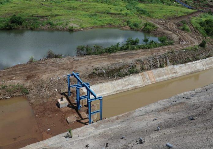 Bendungan Napun Gete direncanakan mampu mengairi area irigasi seluas 300 hektare. Foto: Kementerian PUPR