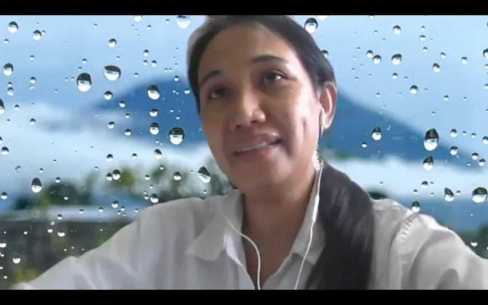 Direktur Inventarisasi dan Pemantauan Sumber Daya Hutan (IPSDH) Ditjen PKTL, Belinda A. Margono, menjelaskan penurunan deforestasi sebesar 75,03 persen merupakan angka deforestasi netto. Foto: KLHK