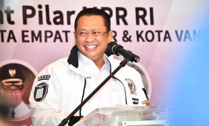 Ketua MPR RI Bambang Soesatyo berpandangan bahwa bahwa kota-kota besar tidak lagi akan menjanjikan karena aktivitas bisnis akan bergeser ke desa. Foto: JPNN.com