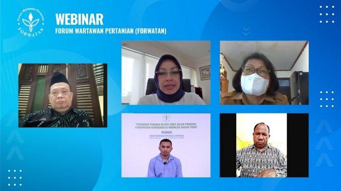 Diskusi Forum Wartawan Pertanian (Forwatan) tentang