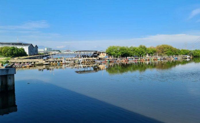 Kementerian PUPR bekerja sama dengan pemerintah daerah menyiapkan program relokasi lahan mangrove yang berada di sekitar pembangunan Seksi 1 Tol Semarang - Demak ruas Semarang - Sayung. Foto: Kementerian PUPR