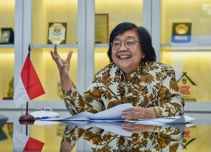 Menteri Lingkungan Hidup dan Kehutanan Siti Nurbaya menyatakan welcome atas kemungkinan dukungan World Bank pada pekerjaan-pekerjaan yang sangat penting dan pekerjaan besar tersebut. Foto: KLHK