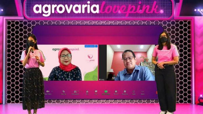 Wielly Wahyudin dan Rizka Fardy, penyintas kanker payudara dari Lovepink. Foto: Astra Agro