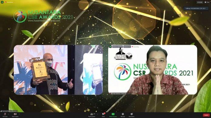 Astra Agro Raih Nusantara CSR Award 2021. Foto: Astra Agro